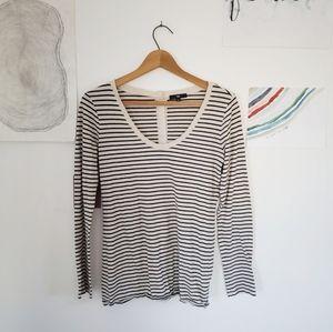 4/$15 GAP striped long sleeve
